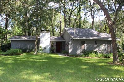 Gainesville FL Single Family Home For Sale: $214,000