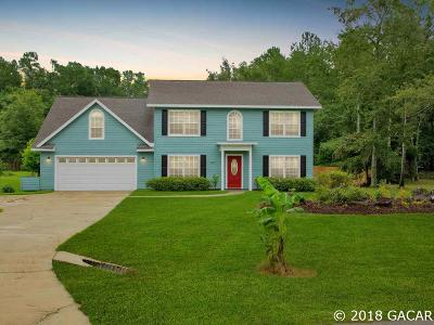 High Springs Single Family Home For Sale: 16031 NW 206 Drive