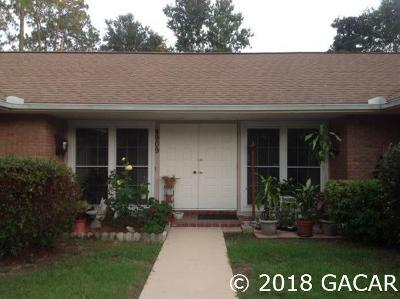Gainesville Single Family Home For Sale: 4909 NW 16th Place