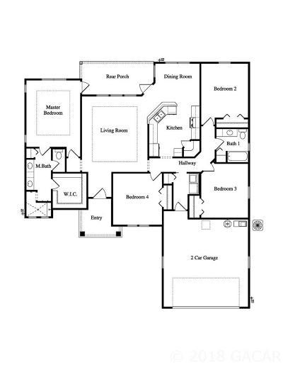 Alachua Single Family Home For Sale: 15885 NW 121st Lane