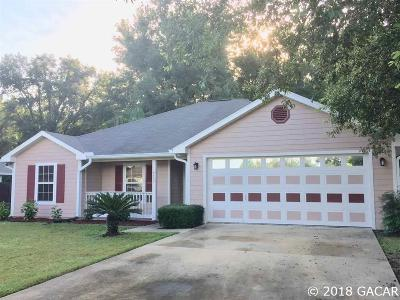 High Springs Single Family Home For Sale: 19745 NW 230th Street