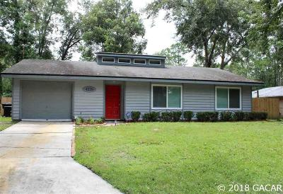 Gainesville Single Family Home For Sale: 4228 NW 20th Terrace