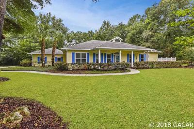 High Springs Single Family Home For Sale: 23133 NW 183rd Lane