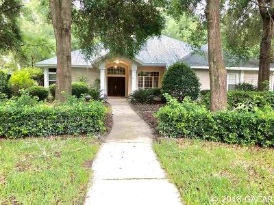 Gainesville Single Family Home For Sale: 3837 SW 93rd Terrace
