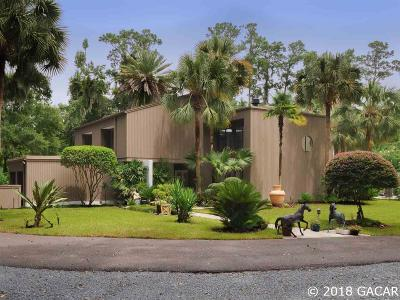 Gainesville Single Family Home For Sale: 5725 NW 91ST Boulevard