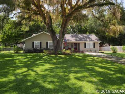 Newberry Single Family Home For Sale: 250 SW 254TH Street