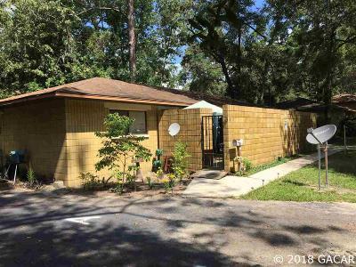 Gainesville FL Multi Family Home For Sale: $120,000