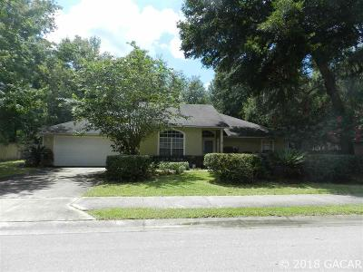 Gainesville Single Family Home For Sale: 5808 SW 86 Drive
