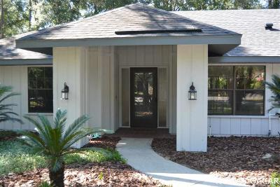 Gainesville Single Family Home For Sale: 3902 NW 21st Lane