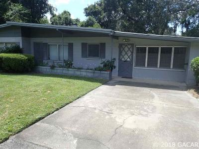 Gainesville Single Family Home For Sale: 4002 NW 36th Street