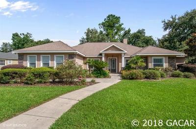 Gainesville Single Family Home For Sale: 12001 SW 1ST Lane