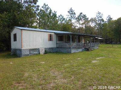 Williston FL Single Family Home For Sale: $45,000