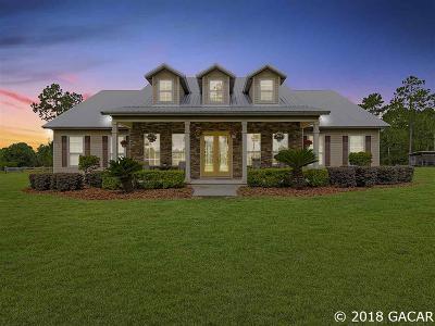 Alachua Single Family Home For Sale: 27584 NW 173rd Terrace
