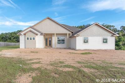 High Springs Single Family Home For Sale: 24764 NW 160 Avenue