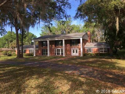 Gainesville Single Family Home For Sale: 3510 SW 63rd Lane