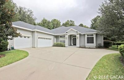 Gainesville Single Family Home For Sale: 8902 SW 62 Place
