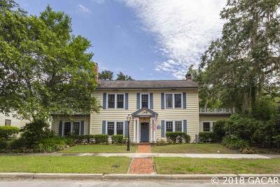 Gainesville Single Family Home For Sale: 214 NE 9TH Avenue
