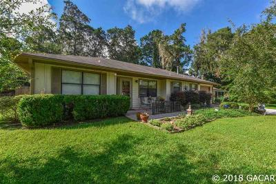 Alachua Single Family Home For Sale: 6109 NW 107 Place