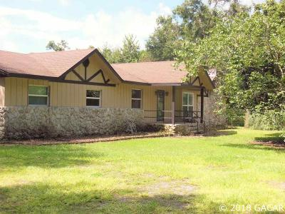 Williston FL Single Family Home For Sale: $299,000