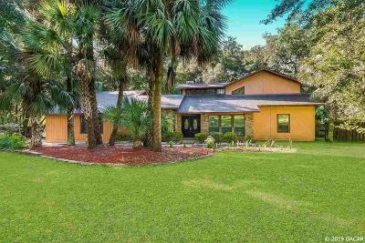 Gainesville Single Family Home For Sale: 8411 SW 43rd Terrace