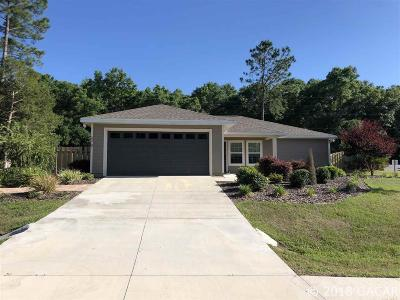 High Springs Single Family Home For Sale: 22787 NW 190th Place
