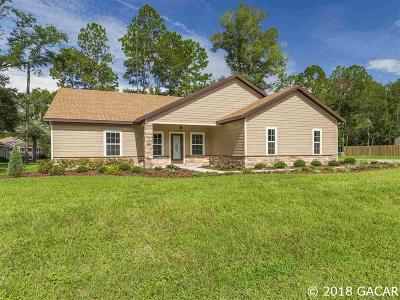 High Springs Single Family Home For Sale: 22641 NW 192nd Lane