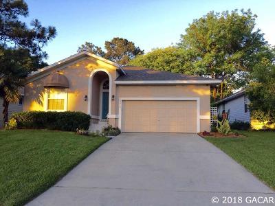 Alachua Single Family Home For Sale: 10815 NW 62nd Terrace