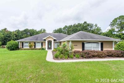 High Springs Single Family Home For Sale: 16628 NW 212 Terrace