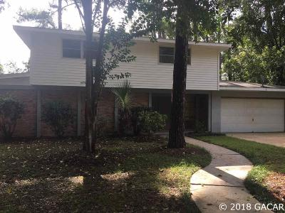 Gainesville Single Family Home For Sale: 1209 NW 34th Terrace