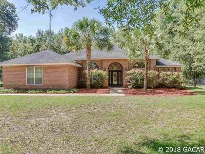 High Springs Single Family Home For Sale: 5779 NE 62nd Place