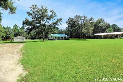 Williston FL Single Family Home For Sale: $219,900