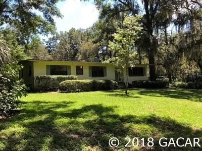 Gainesville Single Family Home For Sale: 3755 SW 2nd Place