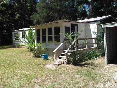High Springs Single Family Home For Sale: 491 SE Robinhood Place