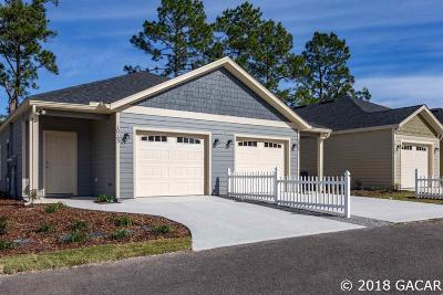 Alachua Condo/Townhouse For Sale: 10763 NW 65th Way