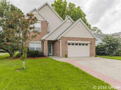 Alachua Single Family Home For Sale: 7414 NW 116TH Lane