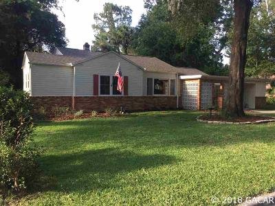 Gainesville Single Family Home For Sale: 1740 NW 6th Avenue