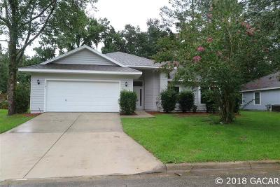 Gainesville Single Family Home For Sale: 4445 NW 34TH Terrace