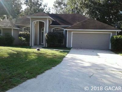 Gainesville Single Family Home For Sale: 11637 NW 13th Lane