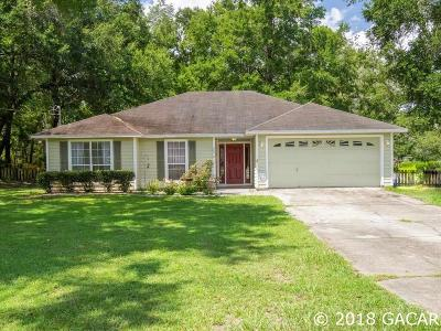 Newberry Single Family Home For Sale: 2814 NW 244 Street