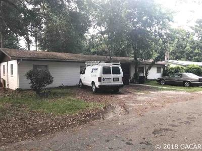 Gainesville Multi Family Home For Sale: 1904 NW 10TH Street