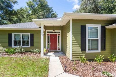 Gainesville Single Family Home For Sale: 10184 SW 92 Street