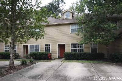 Gainesville Condo/Townhouse For Sale: 5273 SW 97 Drive