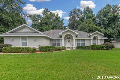 Gainesville Single Family Home For Sale: 10436 NW 13th Lane