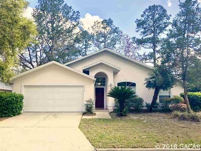 Gainesville Single Family Home For Sale: 3443 NW 62nd Place