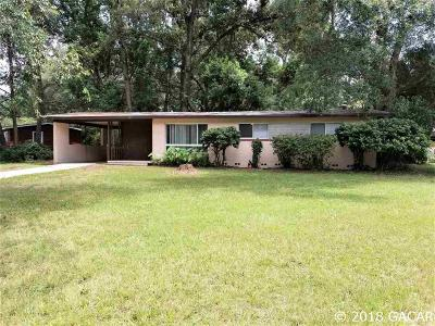 Gainesville Single Family Home For Sale: 507 NW 36TH Street