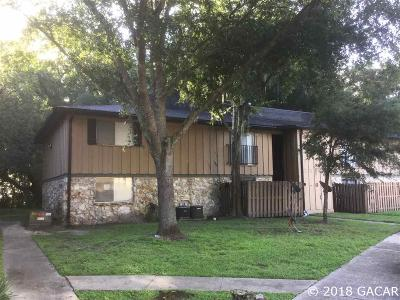 Gainesville Condo/Townhouse For Sale: 507 NW 39th Road