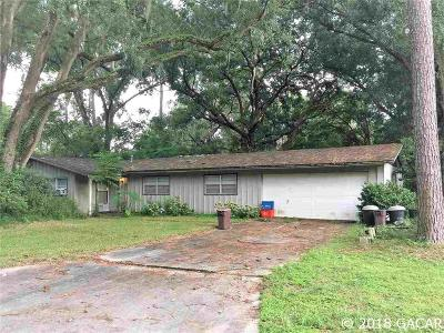 Gainesville Single Family Home For Sale: 4711 NW 32 Place