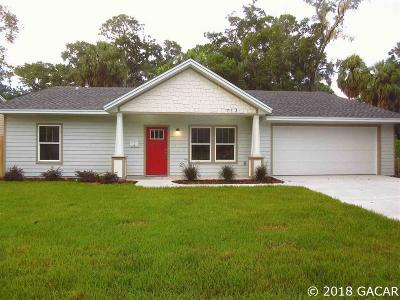 Gainesville Single Family Home For Sale: 713 NW 15th Avenue