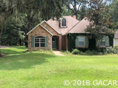 Alachua Single Family Home For Sale: 11305 NW 67th Terrace