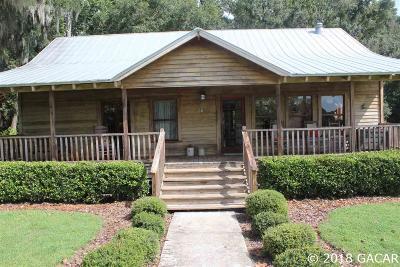Alachua Single Family Home For Sale: 11626 NW 199th Avenue